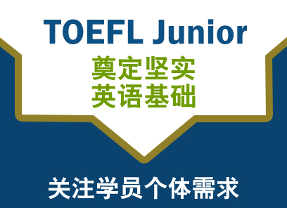TOEFL Junior一对三